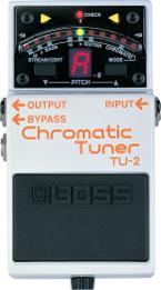 Boss TU-2, afinador cromático en formato pedal (de guitarra)