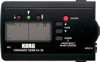 Korg CA30, afinador cromático por micrófono o por cable